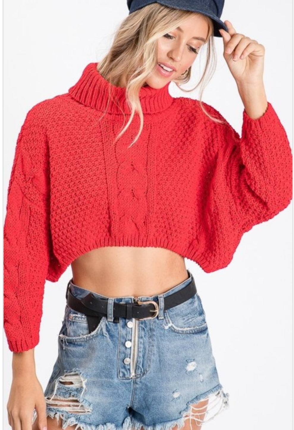 Knitted dolman