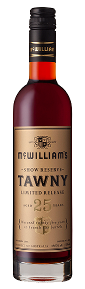 McWilliam's Show Reserve Limited Release 25 Year Old Tawny