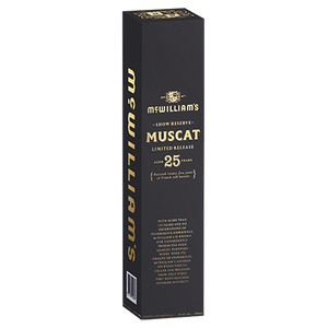 McWilliam's Show Reserve Limited Release 25 Year Old Muscat