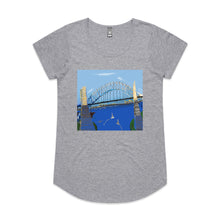 Sydney Harbour - Women's Drop T-shirt - Grey