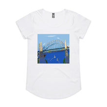 Sydney Harbour - Women's Drop T-shirt - White