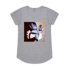 The Welder - Women's Drop T-shirt - Grey