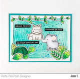 Jungle Friends Stamp Set