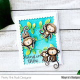 Monkey Friends Coordinating Dies