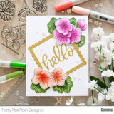 Geraniums Stamp Set