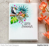 Tropical Toucans Stamp Set