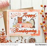 Thanksgiving Scene Stamp Set