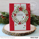 Winter Wreath Stamp Set