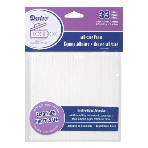 Double Sided Foam Sticky Strips