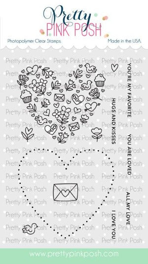 All My Love Stamp Set