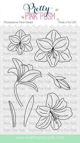 Amaryllis Stamp Set