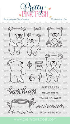 Bear Friends Stamp Set