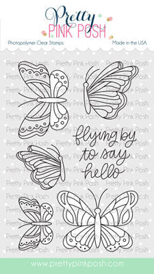 Beautiful Butterflies Stamp Set