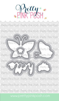 Blissful Butterflies Coordinating Dies