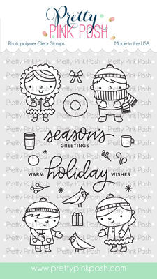 Christmas Friends Stamp Set