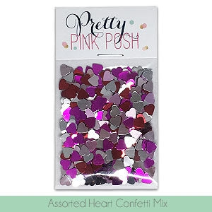 Assorted Heart Confetti