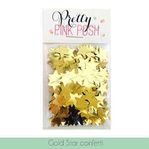 Large Gold Star Confetti