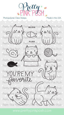 Cuddly Cats Stamp Set