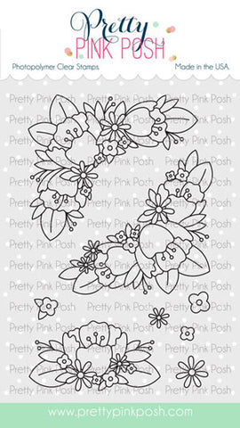 Floral Corners Stamp Set