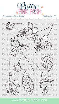 Flourishing Fuchsias Stamp Set