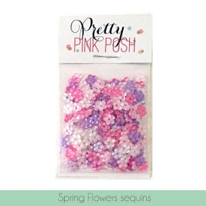 Spring Flowers Sequins Mix
