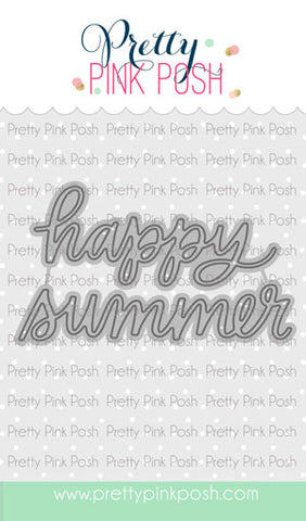 Happy Summer Script Die