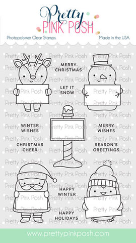 Holiday Signs Stamp Set