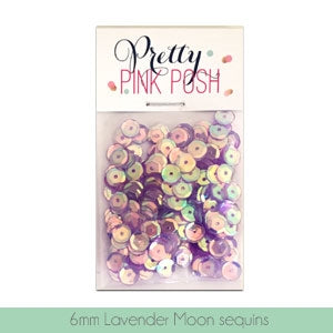 6mm Lavender Moon Sequins