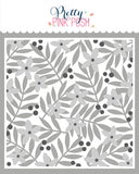 Layered Leaves & Flowers Stencils (3 Pack)