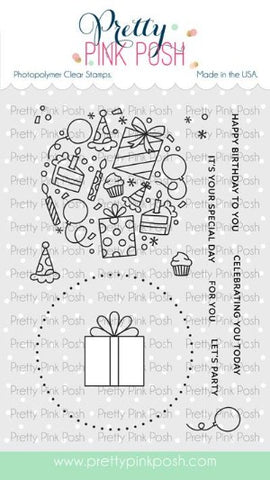 Let's Party Stamp Set