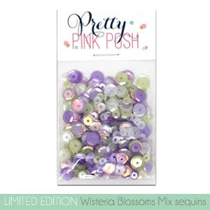 Wisteria Blossoms Sequins Mix