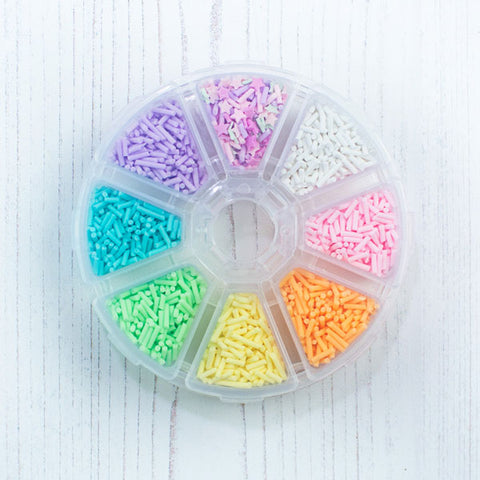Clay Confetti Wheel #2