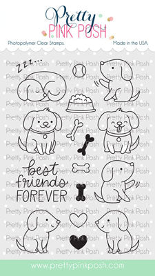 Playful Puppies Stamp Set