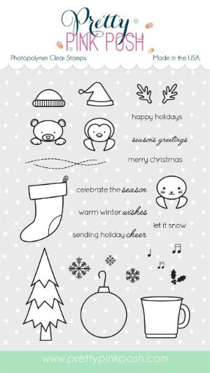 Winter Friends Stamp Set