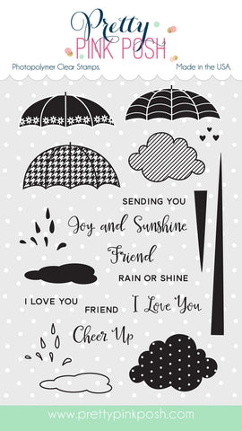 Rainy Days Additions Stamp Set