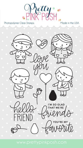 Friends Forever Stamp Set