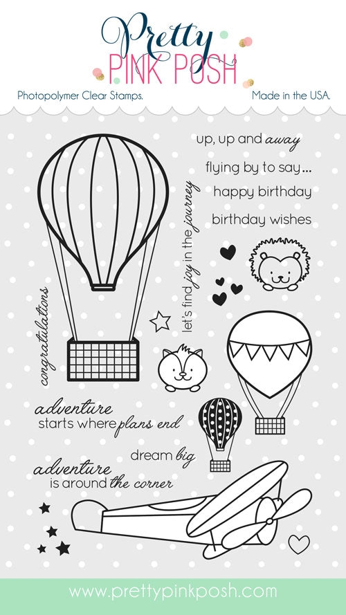 Fly Away Friends Stamp Set