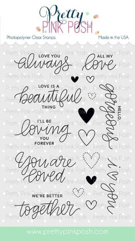 Love Sentiments Stamp Set