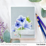 Pretty Petunias Stamp Set