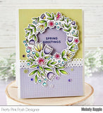 Spring Wreath Stamp Set