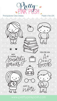 School Friends Stamp Set