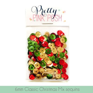 6mm Classic Christmas Sequins