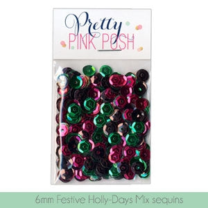 6mm Festive Holly-Days Sequins