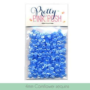 4MM Cornflower Sequins