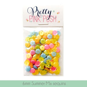 6mm Summer Mix Sequins