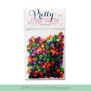 4mm Trick or Treat Mix Sequins - Cupped Sequins