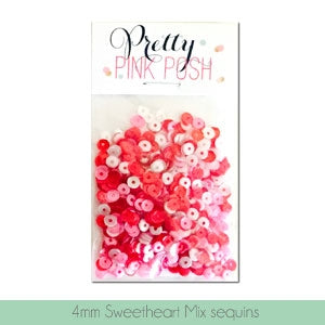 4mm Sweetheart Sequins Mix