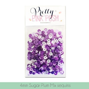 4mm Sugar Plum Sequins Mix