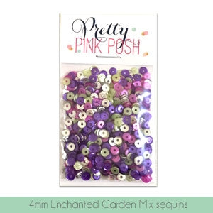 4mm Enchanted Garden Sequins Mix
