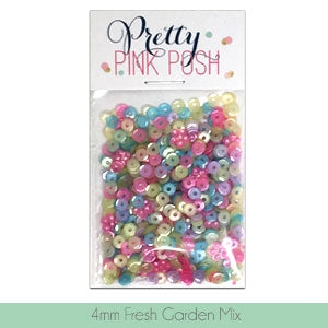4mm Fresh Garden Sequins Mix